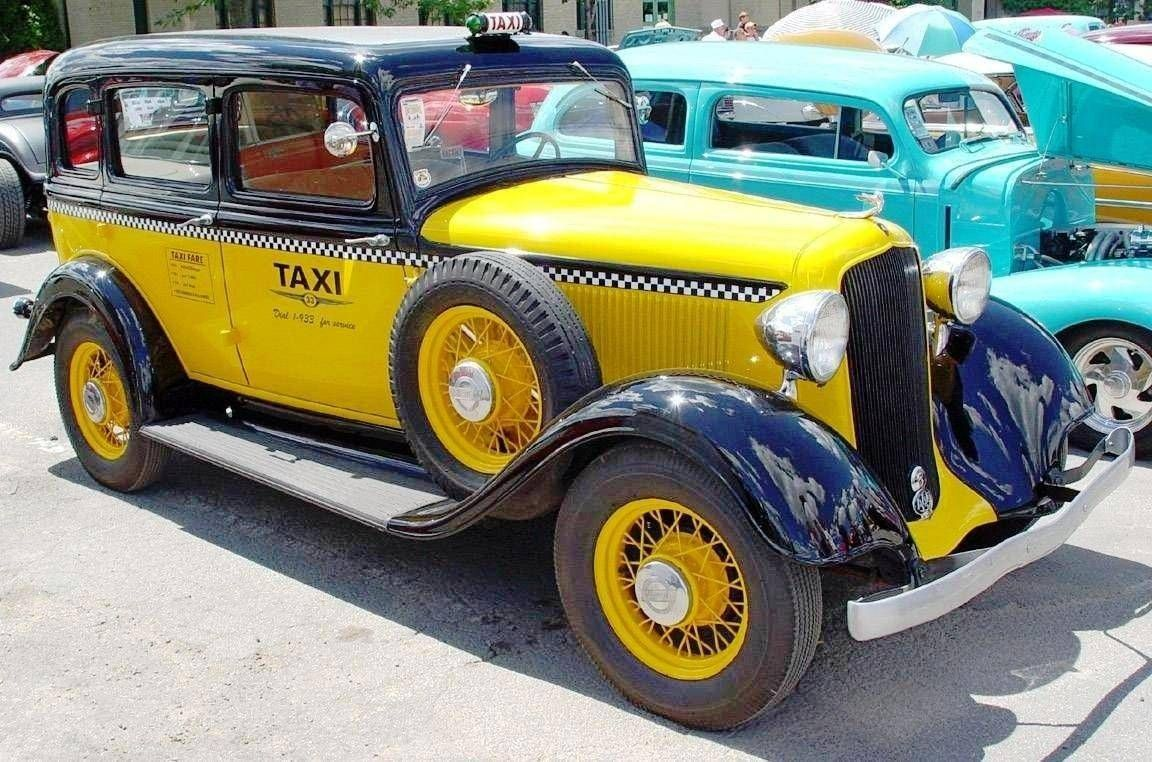 1933 Taxi Taxi Plymouth American Classic Cars