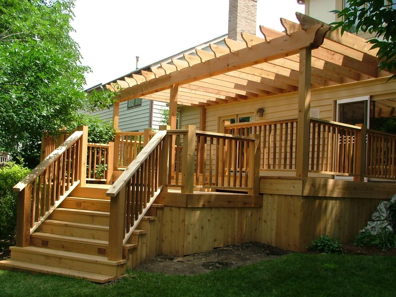 Deck Skirting Ideas Here Is A Nice Example Of How You