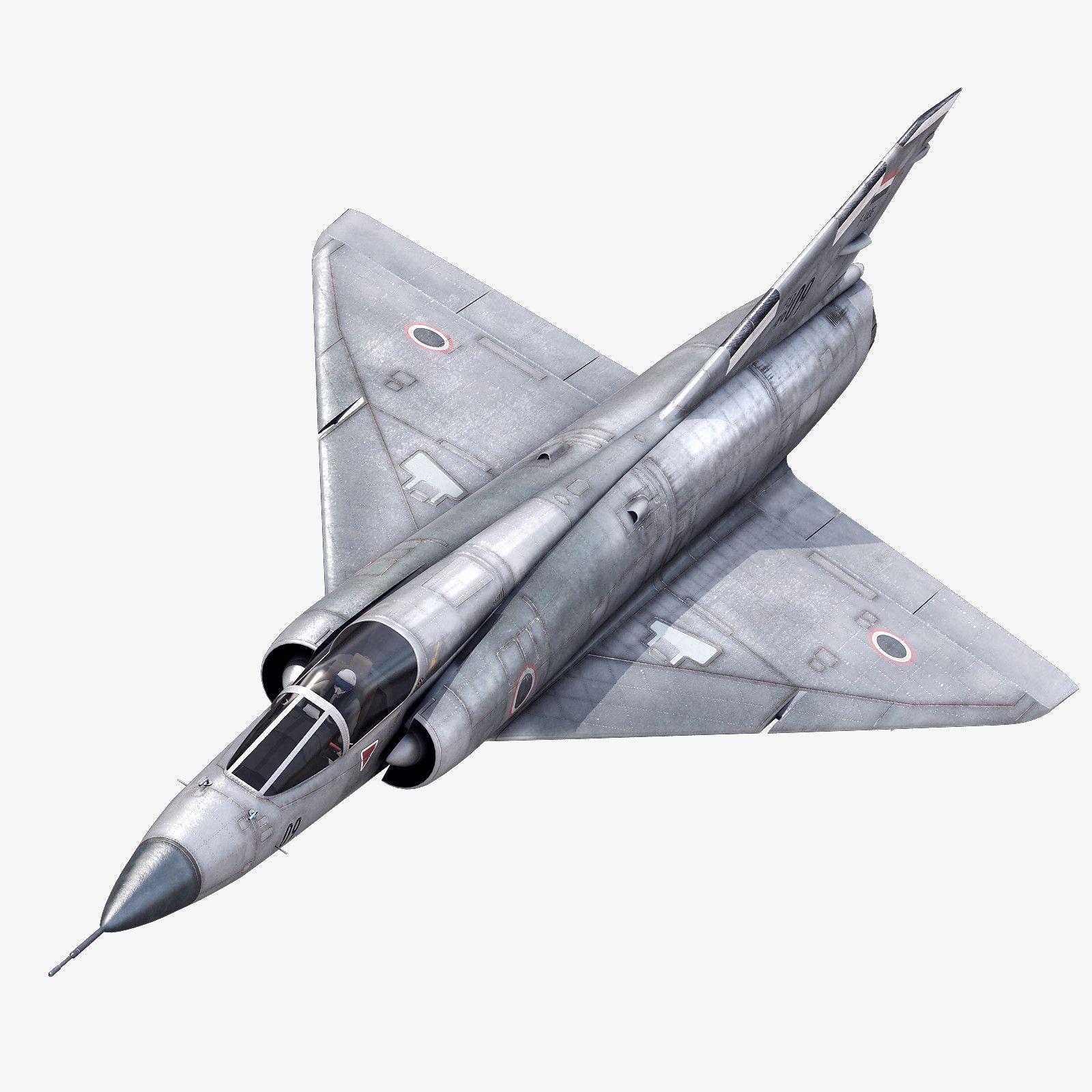 Dassault Mirage Iii 3D 3Ds - 3D Model