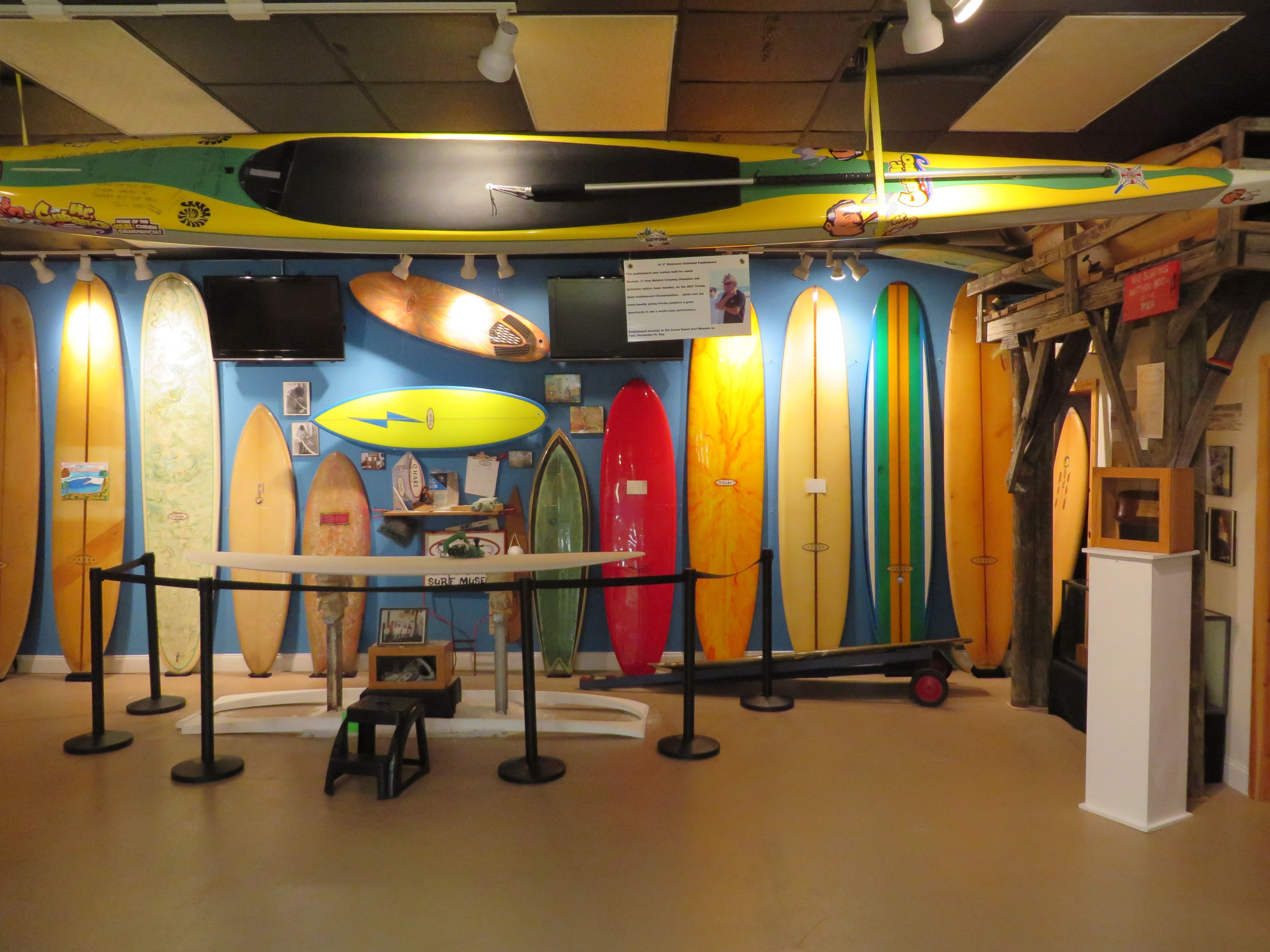 Cocoa Beach Surf Museum In
