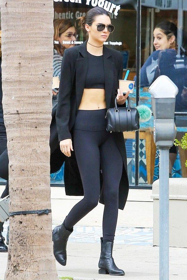 e3b42545d47127 The Leggings Kendall Jenner Wears Practically Everywhere ...