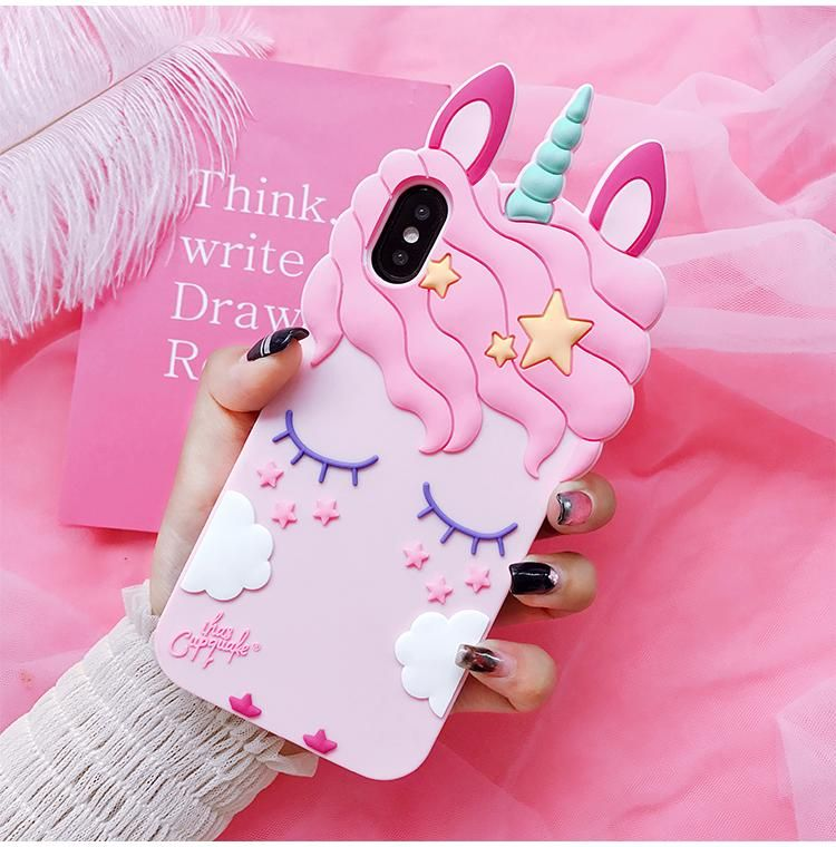 Buy Cartoon cute unicorn Phone Case For