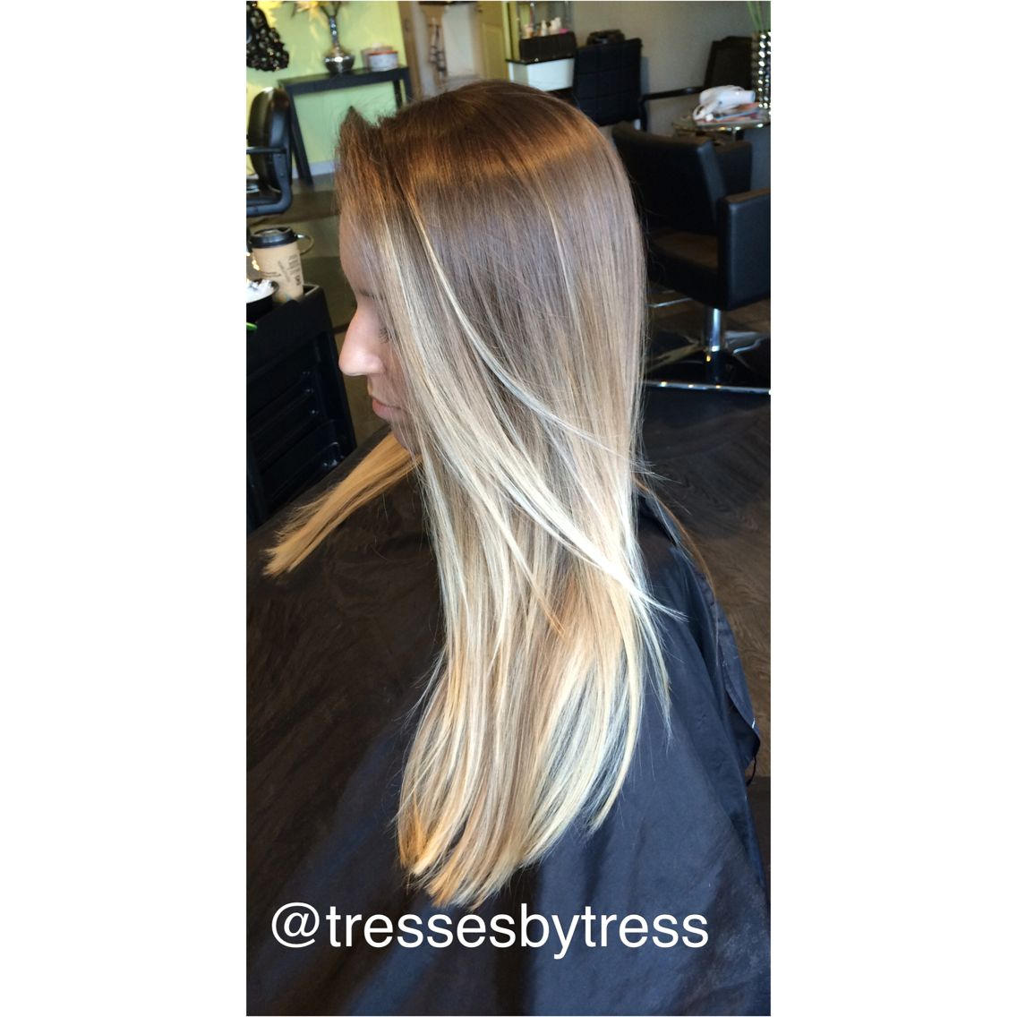 Soft Natural Baby Blonde Ombre Balayage Blonde Ombre Hair