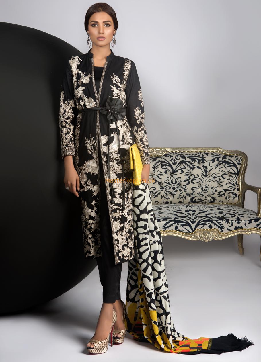 Sana safinaz wshwla replica pakistani check and indian fashion