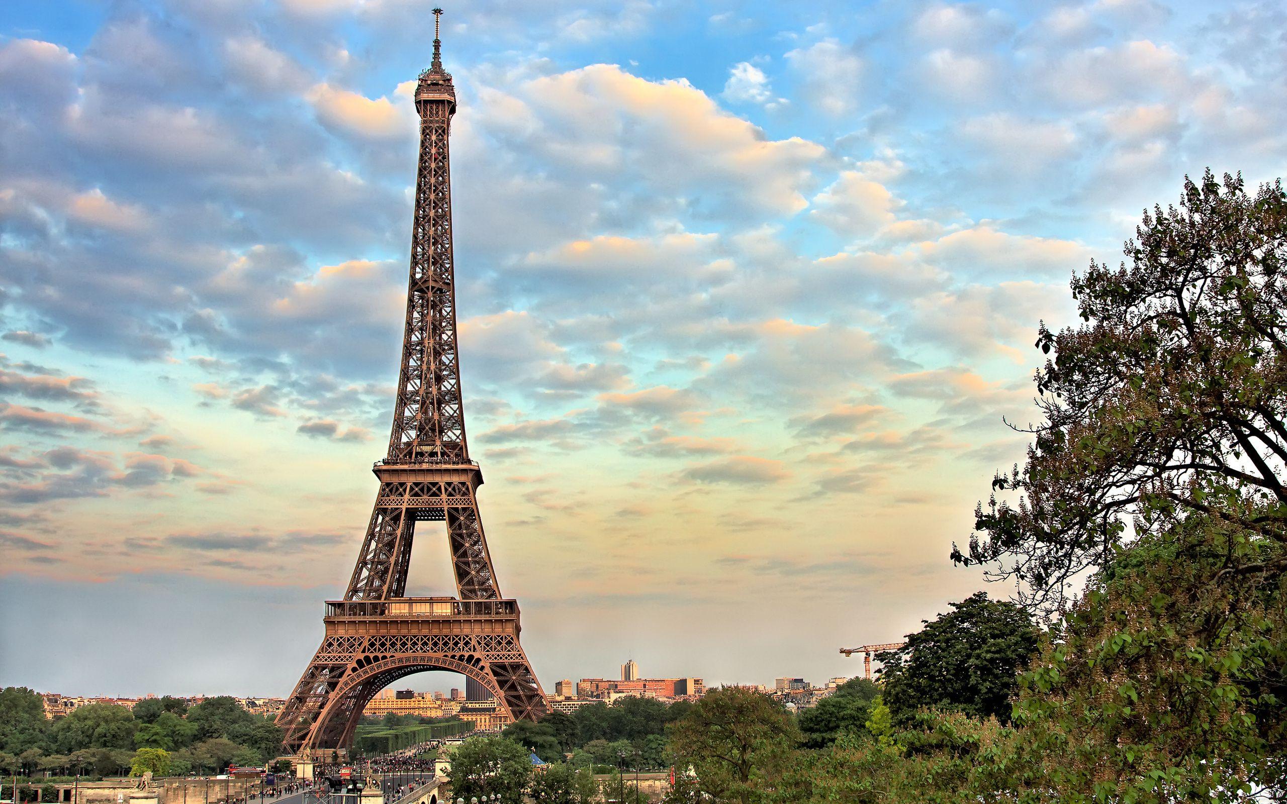 Обои Эйфелева башня, рисунок. Города foto 6