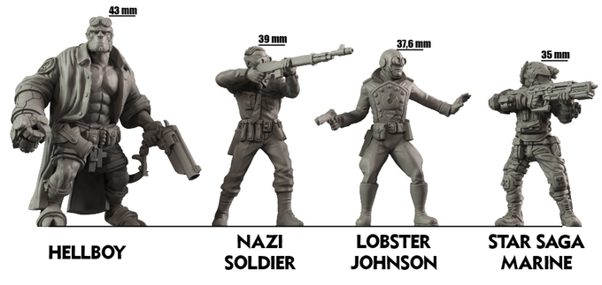 HellBoy The Board Game Box Set в 2019 г.
