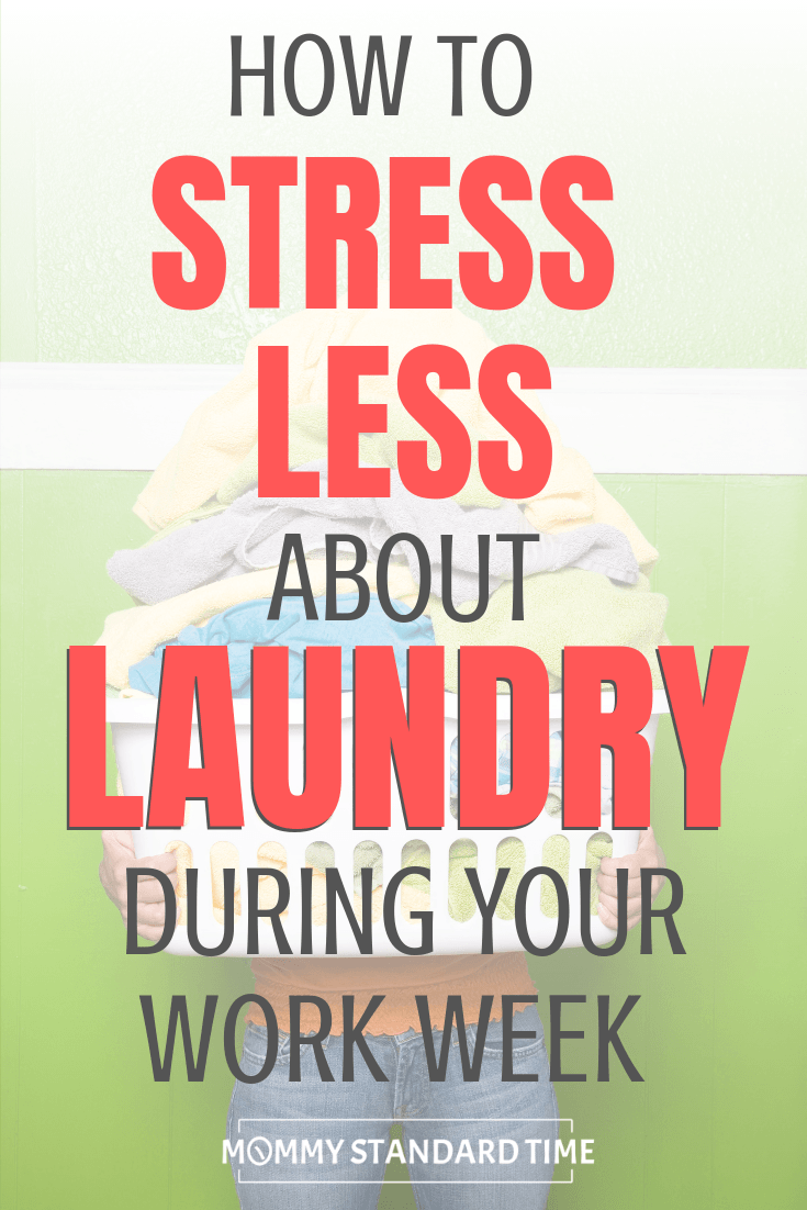 CHILD CLOTHING ORGANIZATION  Mommy Standard Time How to stress less about laundry during the work week This child clothing organization system will help you streamline yo...