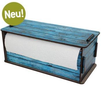Werkhaus Shop - Küchenrollenbox - Holz türkis