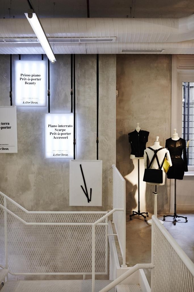 H m to open other stories in italy shop signage and for And other stories italia