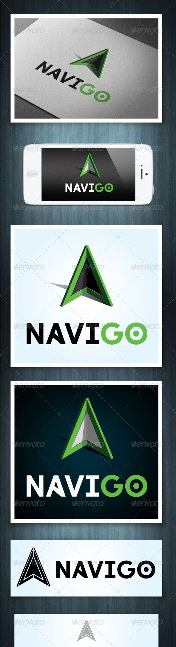 navigo  travel infographic logo templates travel logo