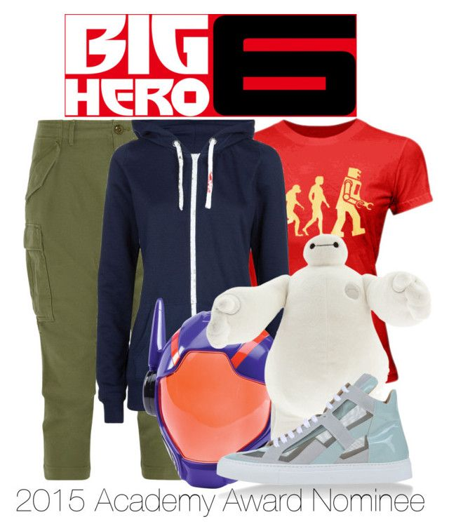 """""""Big Hero 6"""" by wearwhatyouwatch ❤ liked on Polyvore featuring NLST, Disney, MM6 Maison Margiela and disney"""