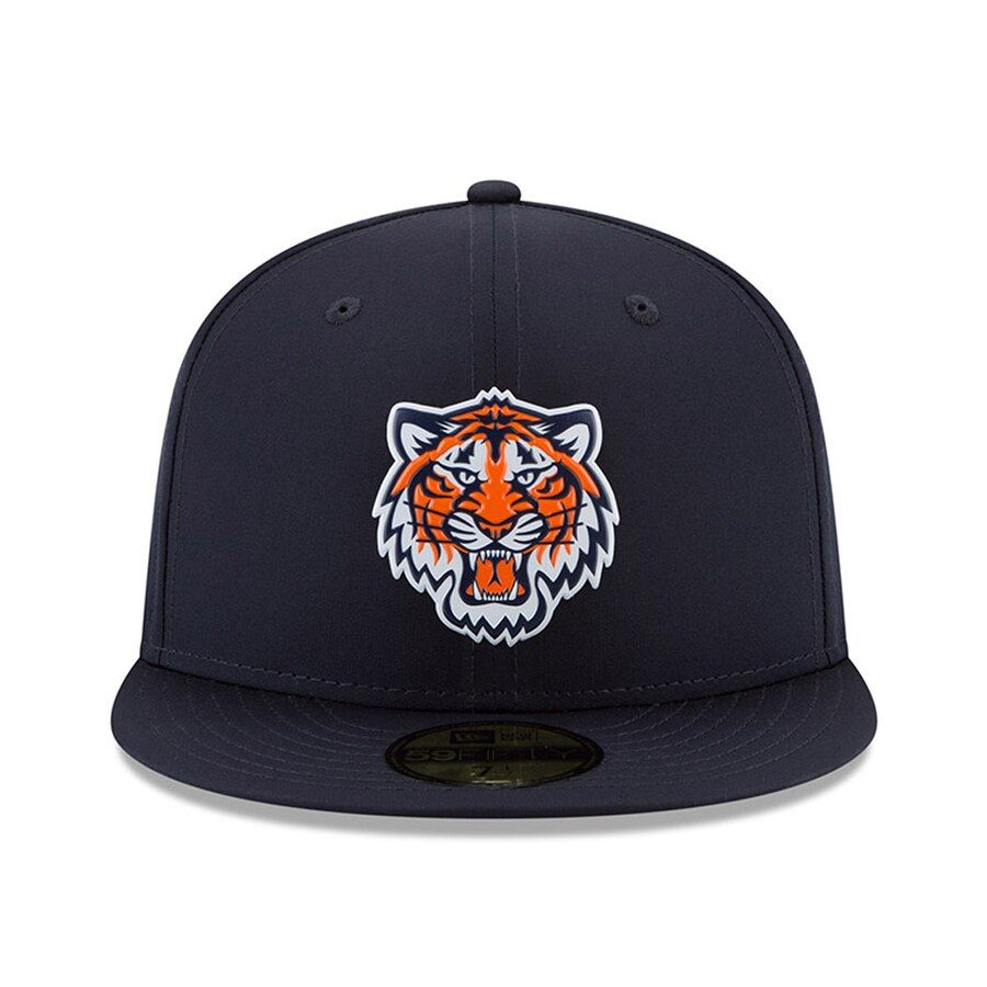 549a4d6f8b18b6 Detroit Tigers New Era 2018 On-Field Prolight Batting Practice 59FIFTY  Fitted Hat – Navy