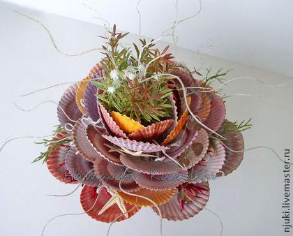 Композиция в морском стиле Морской Цветок интерьерная композиция - кремовый