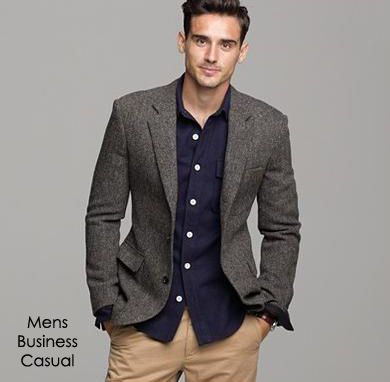 mens business casual suit