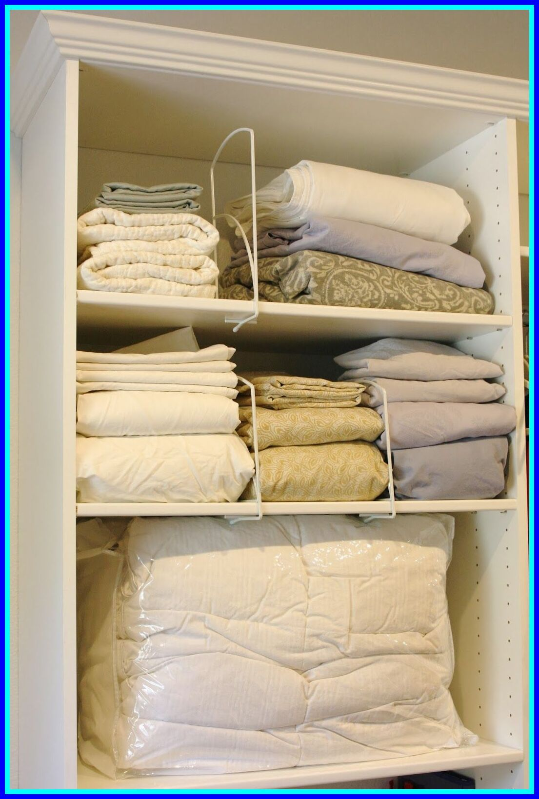 122 Reference Of Sheet Storage Ideas Bed Sheets In 2020 Sheet Storage Organized Bed Small Space Storage