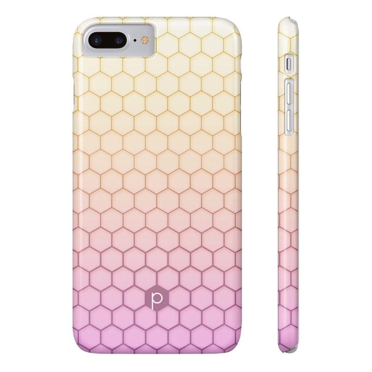 Sunset Honeycomb Phone Case