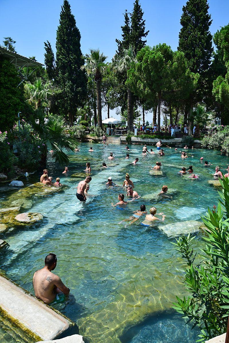 Cleopatra pools, Hierapolis, Turkey
