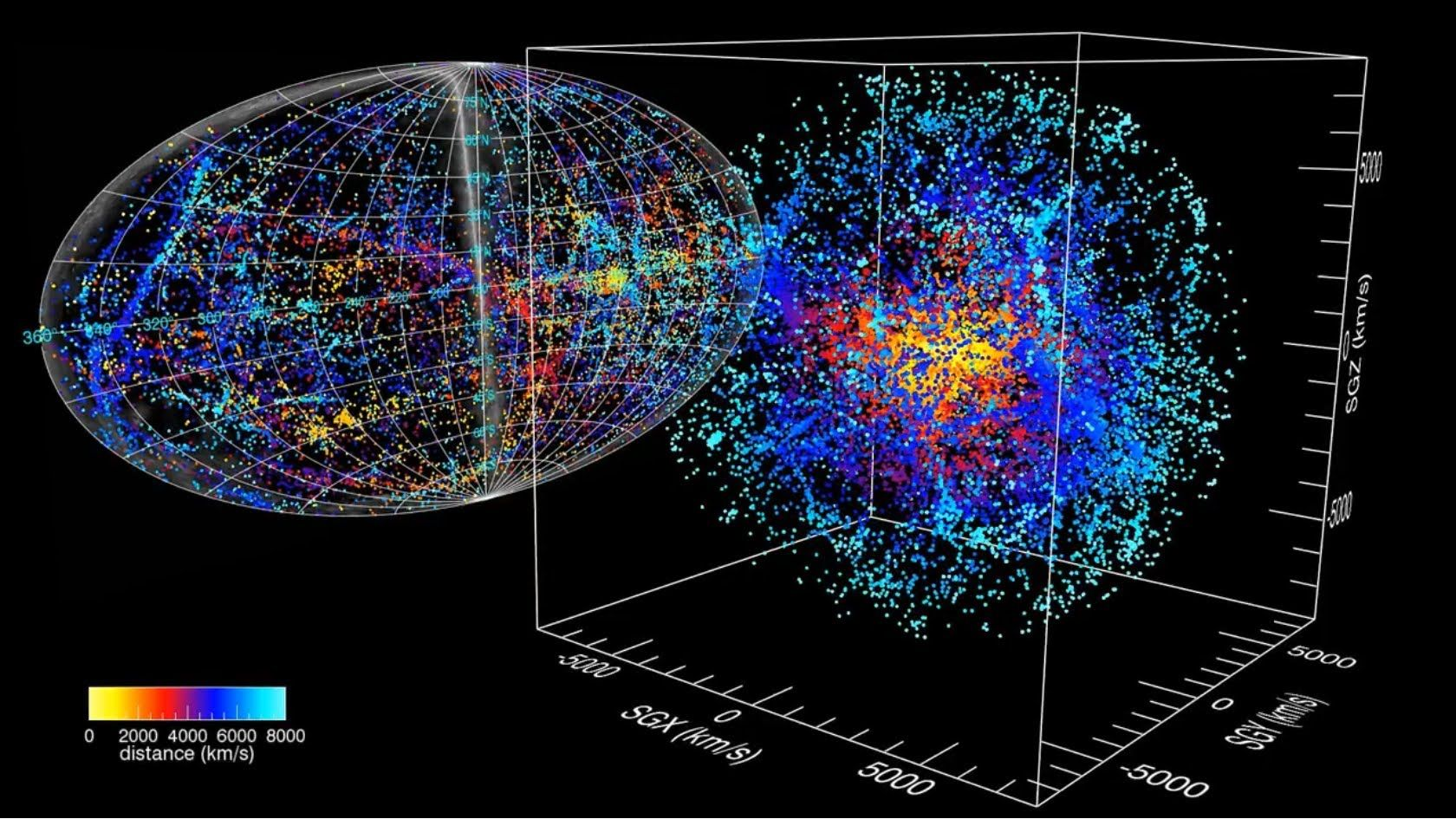 known universe map nasa - photo #4
