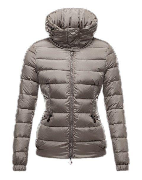 dbe2809c063 Moncler Sanglier Jackets Women Zip Collar Silver Gray  2781605  - £148.47
