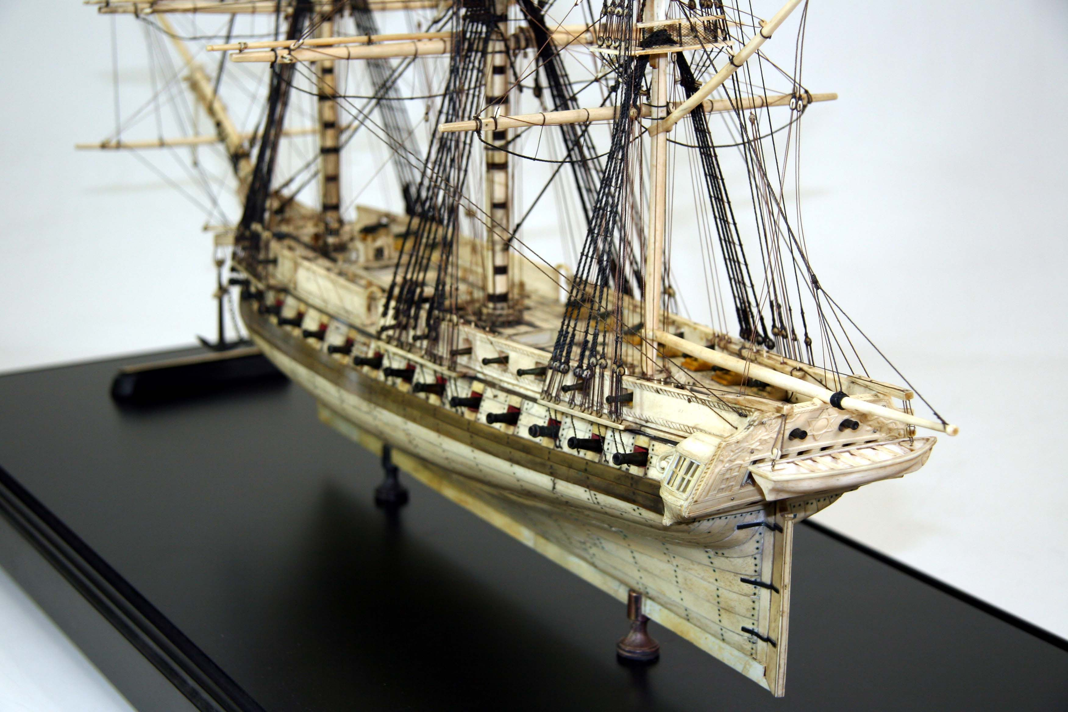 48-Gun heavy frigate 1/196 Scale Model | Ships Historical | Pinterest | Scale models, Scale and Guns