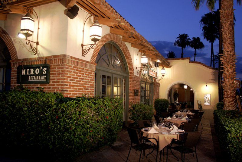 Miro S Restaurant Outside Patio A Cozy Family Owned Restaurant