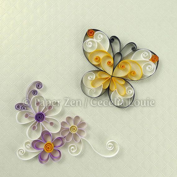 Fiori Quilling.Quilling Flowers Pdf Pattern Tutorial Quilling Patterns Paper