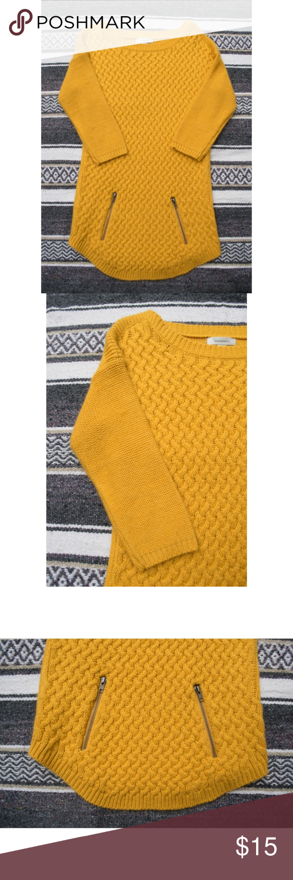 Dress Barn Yellow Gold Sweater Dress This yellow/gold Dress Barn ...