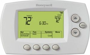 Honeywell Home 7 Day Programmable Thermostat With Wi Fi Capability White Rth6580wf Digital Thermostat Programmable Thermostat Honeywell