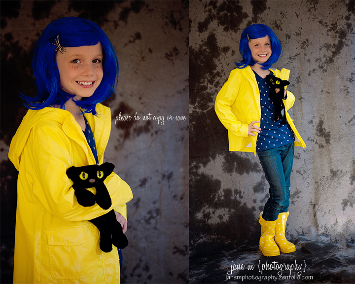 Coraline Children S Costume Coraline Costume Halloween Costumes For Kids Halloween Costumes