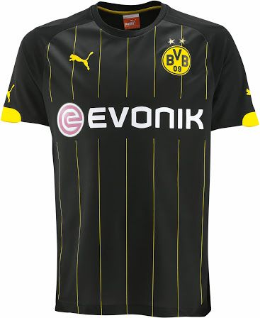 c5a51a73d98 New Borussia Dortmund 14-15 Kits Released - Footy Headlines | SOCCER ...