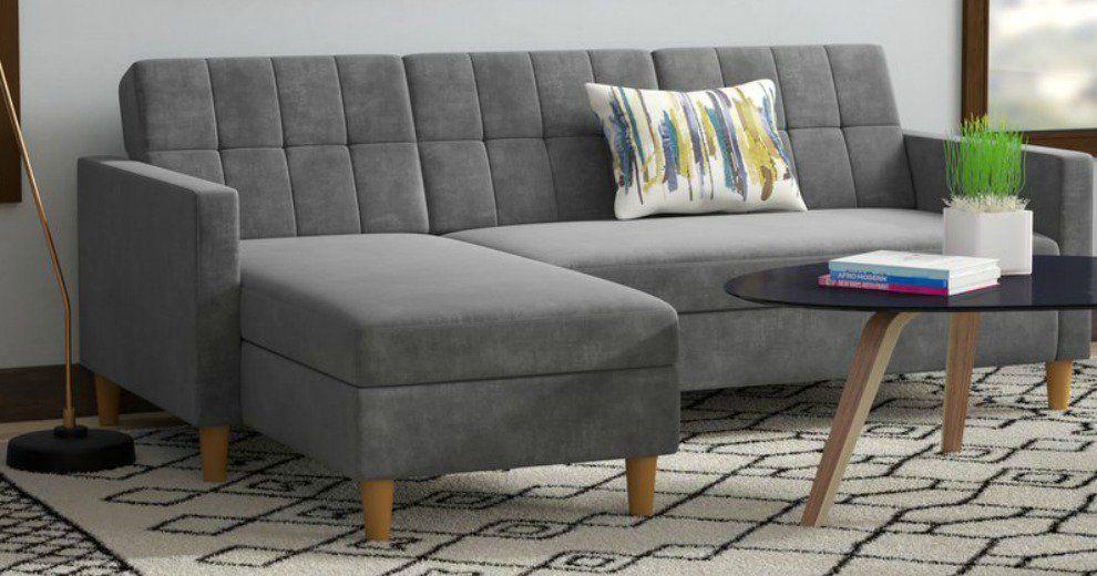 Astonishing Brayden Studio Stigall Sectional Sofa 509 99 47 Off Creativecarmelina Interior Chair Design Creativecarmelinacom