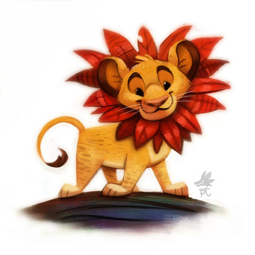 Daily Paint #638. Simba By Cryptid-Creations On DeviantART