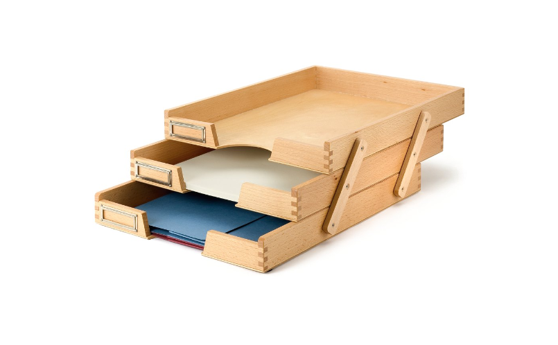 Fashionable Paper Holders With Trays And Office