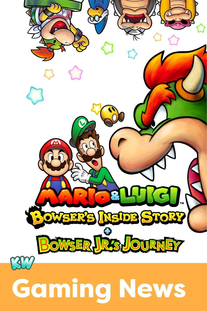 Mario Luigi Bowser S Inside Story Bowser Jr S 3ds Game