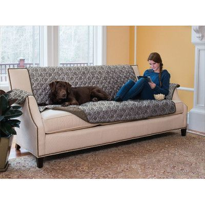Home Fashion Design Luxe Home Reversible Sofa Furniture Protector
