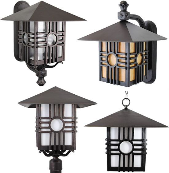 Large Melissa Lighting Zia Series From The Americana Outdoor