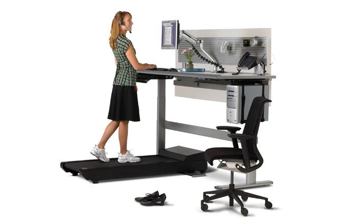 Sit-to-Walkstation | Treadmill desk, Adjustable height desk, Best desk