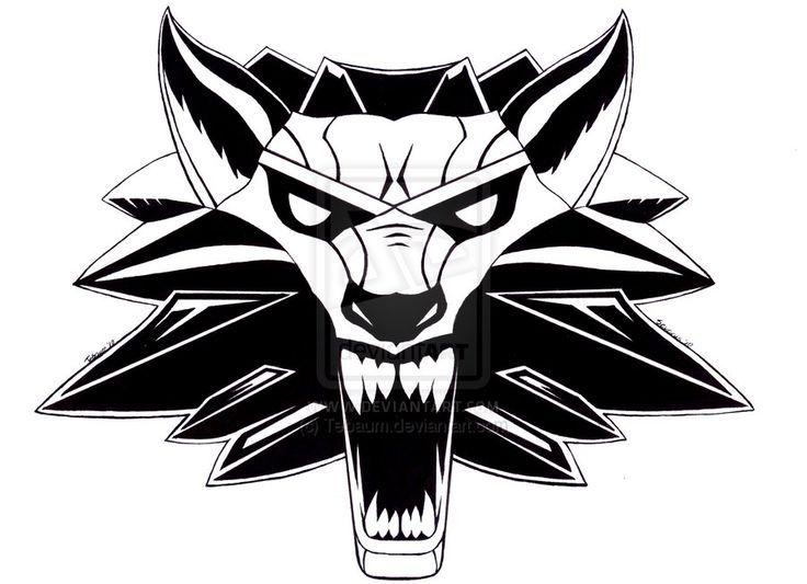 Witcher 3 Tattoo Google Search Witcher Tatowierung The Witcher Wolf Tattoos