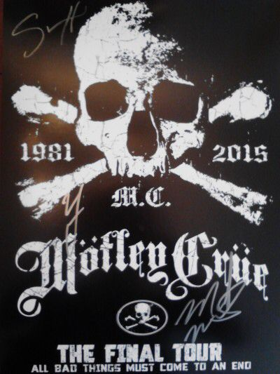 Image From Http Www Jayselthofner Com Wp Content Uploads 2015 08 2015 Final Tour All Bad Things Must Come To An End Mot Motley Crue Motley Crüe Ozzy Osbourne
