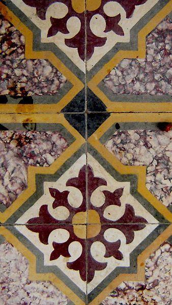 Decorative Tile Designs Floor Tile In Karpas Northeastern Cyprus  Tile  Pinterest  Cyprus
