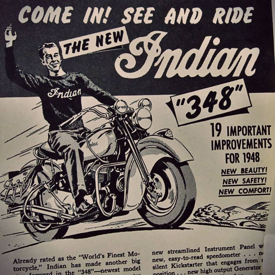 Indian Motorcycles 1915 Sign//Ad VINTAGE STYLE RETRO METAL PLAQUE