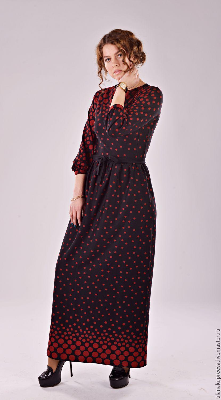 Купить Платье в пол теплое. - платье, платье в пол, платье длинное ... 1cd9809412c