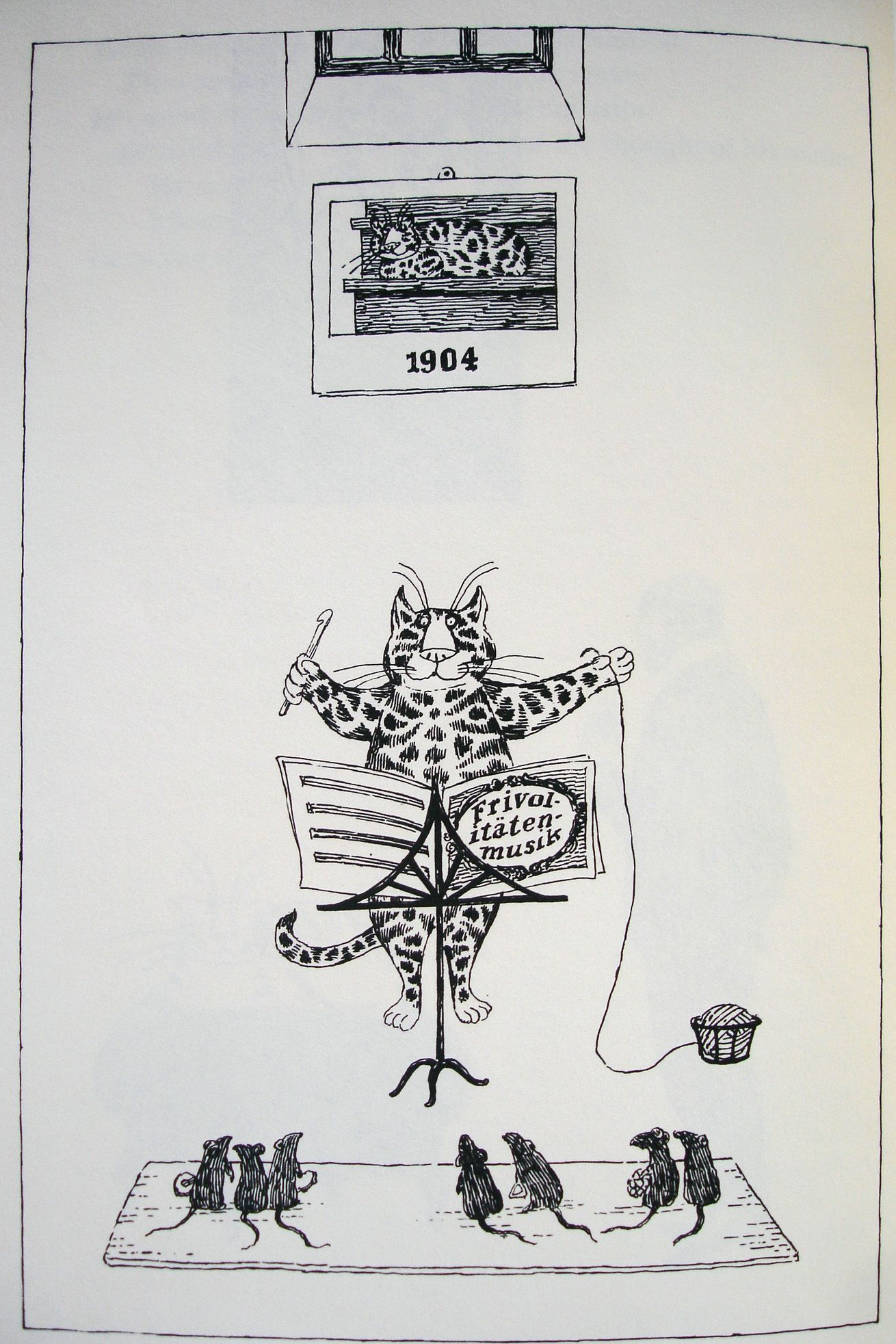 Old Possum's Book of Practical Cats byt T. S. Eliot, illustrated by Edward  Gorey