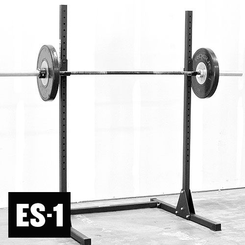 rogue es 1 echo squat stand weightlifting budget 275 sweat it