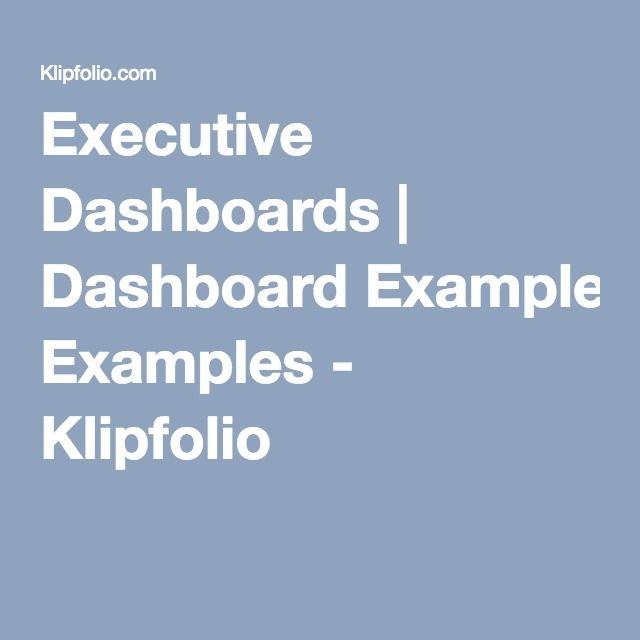 Executive Dashboards Dashboard Examples Klipfolio Supply Chain