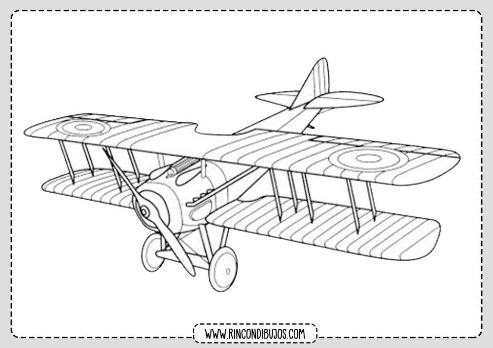 Dibujo De Avioneta Para Colorear Rincon Dibujos Avioneta Dibujo Dibujos Avionetas