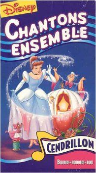 Disney Sing Along Songs Bibbidi Bobbidi Boo Vhs French