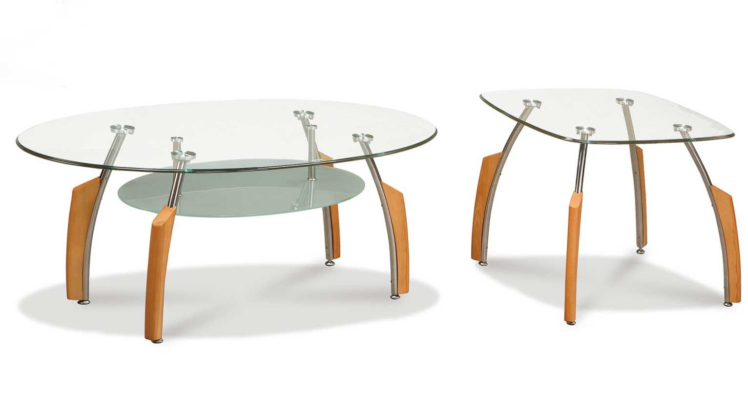 T138 Contemporary Glass Cocktail Table U0026 End Table  Shop At Puritan  Furniture  CT.