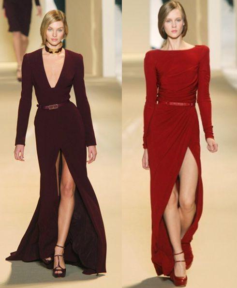 Vestidos Elegantes Con Abertura En La Pierna Vestidos Elegantes Vestidos Vestido Con Abertura
