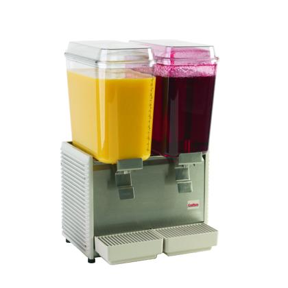 Dispensador de Bebidas Frías 2 tanques/ Cold drink dispenser 2 tanks
